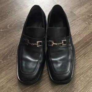 Gucci Men's Black Horse Bit Shoe Size 10.5